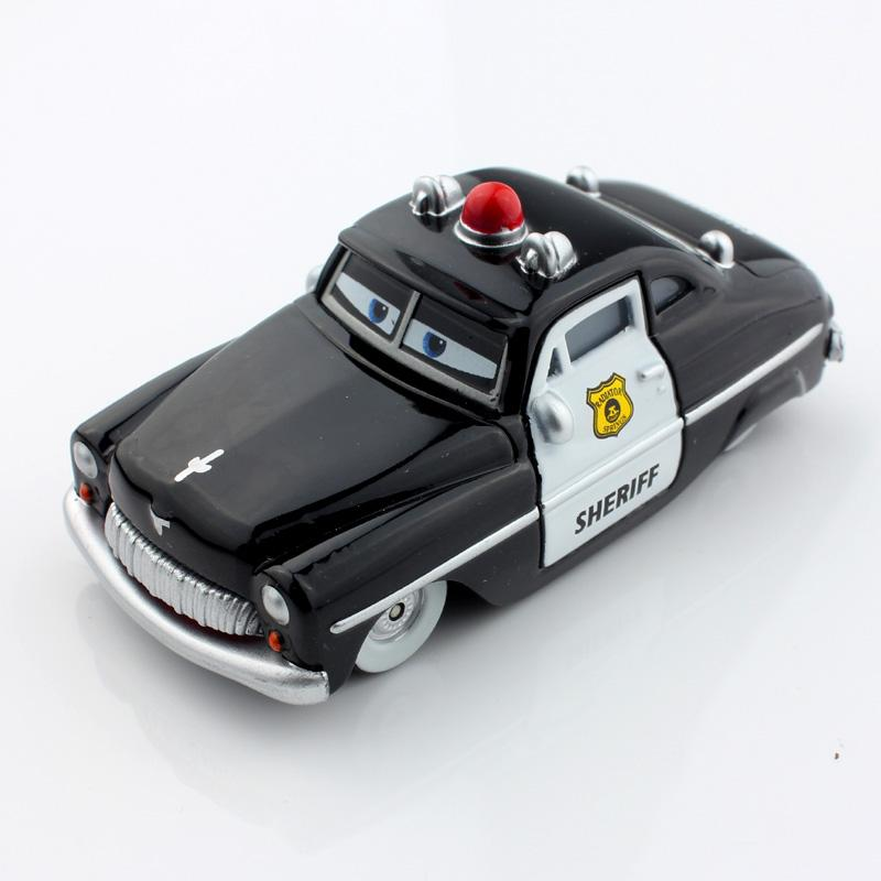 2017 mcqueen friends police sheriff pixar kids cars toys race car metal scale diecast vehicles diecast figure models toys gifts boys for children from