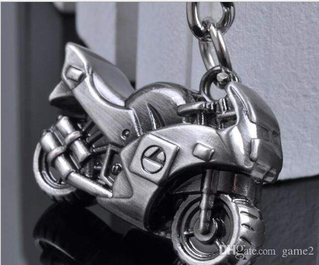 Creative exquisite gift men personality simulation motorcycle racing key chain car model key chain chain ornaments ornaments wholesale