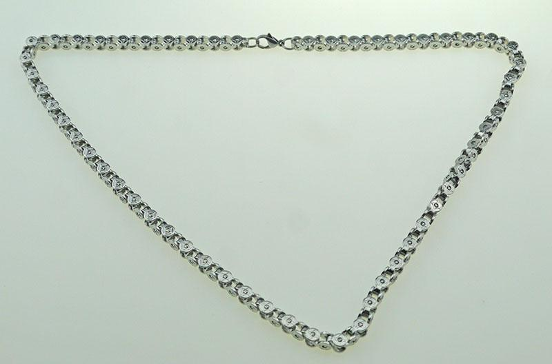 22 inches Width 5MM fashion hip-hop European and American style men and women universal Lobster claw deduction chain
