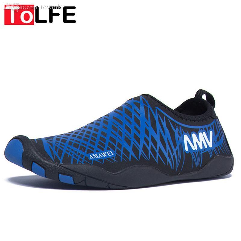 Zapatos Para Hombre Mayor Tolfe Aguamarina De Agua Al Aire Libre Playa Sandalias  Nuevos 2016 Zapatos De Verano Hombres De La Manera Del Deporte Zapatillas  ...