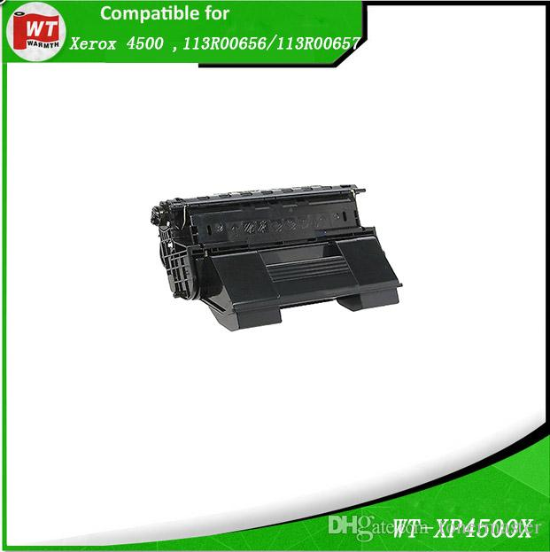 Xerox 4500 , 1Pack Compatible Toner Cartridge for Xerox 4500 4500b 4500dt ,  OEM : 113R00656/113R00657 , BK 10,000/18,000 PAGES