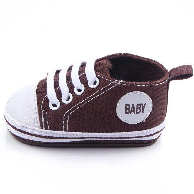 Baby Canvas Moccasin Toddler First Walker Shoes Infant Soft Sole Shoe Girls Casual Non-slip Shoe Newborn Fashion Shoes Prewalker Shoes