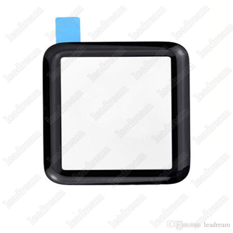 Para Apple Watch Sport Edition Reloj 38mm 42mm frente Panel de vidrio lente de vidrio libre de DHL
