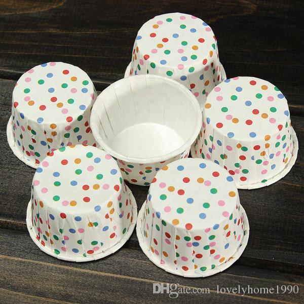 Cake Cupcake Liner Etui Muffin Graisse Coupe À Gâteaux De Dessert