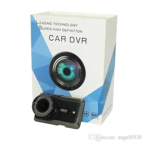 car recorder car black box car dvr Dual Lens Car Camera Two Lens Sony Lense Full HD With Front and Rear/ With GPS Tracking, FCW, LDWS, Par