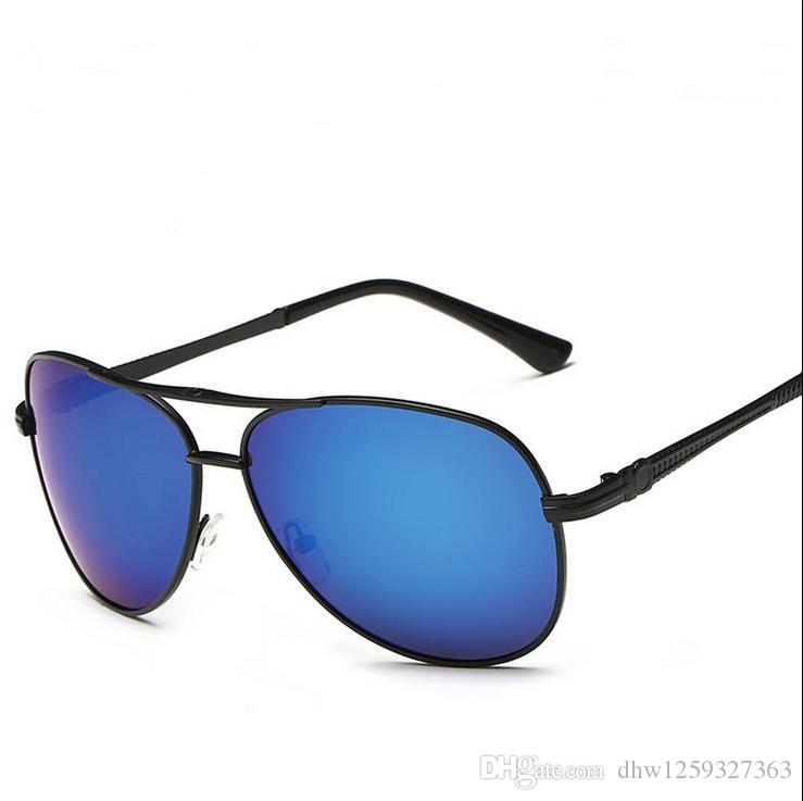 c4137958a247 NEW Fashion Big Glass Len Double Beam Band UV400 Classic Sunglasses For Women  Hot Selling Sunglasses Beach Fishing Party Man HD Cheap Eyeglasses Online  ...