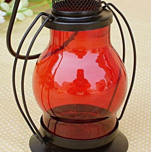 NO Candela Fashion Hot Zakka Candelabro in ferro Candela Portacandele Lampade alcol al cherosene Regalo di festa Decorazione domestica