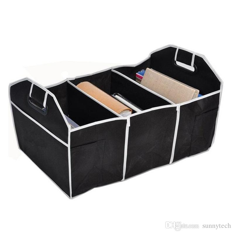 Collapsible Car Trunk Organizer Truck Cargo Portable Tool Folding Storage Bag Case Boot Stuff Tidying Basket ZA1354