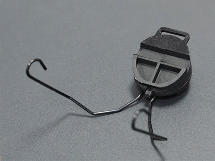Taktisches Helmzubehör Sordin Typ Headset-Halter Schneller Helmschienenadapter Peltor MSA SORDIN Headset Ops-Core Helm ARC-Schienenadapter