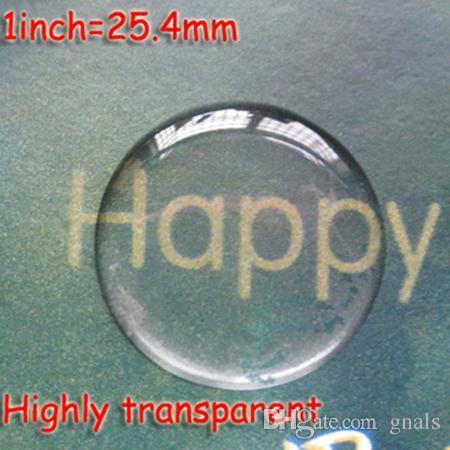 10mm 16mm 18mm 20mm 22mm 25.4mm 30mm 58mm 에폭시 돔 스티커 자기 접착 성 슈퍼 스티커 투명 DIY / 용 투명 스페이서