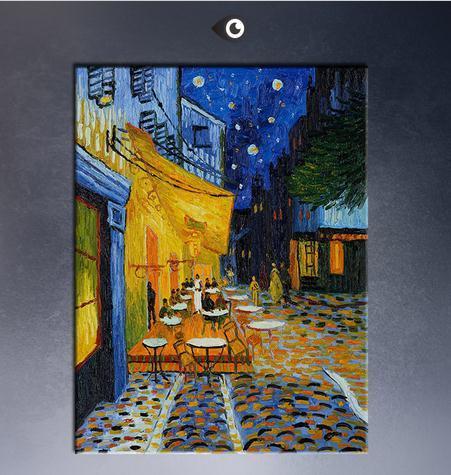 Grosshandel Cafe Terrasse Nachts Durch Vincent Van Gogh Qualitats