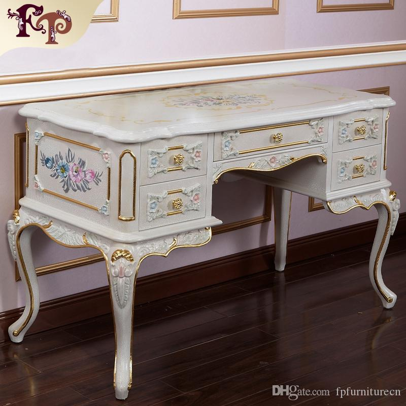2018 French Provincial Furniture Luxury European Royalty Classic Bedroom Set Style Dressing Table And Mirror From Fpfurniturecn
