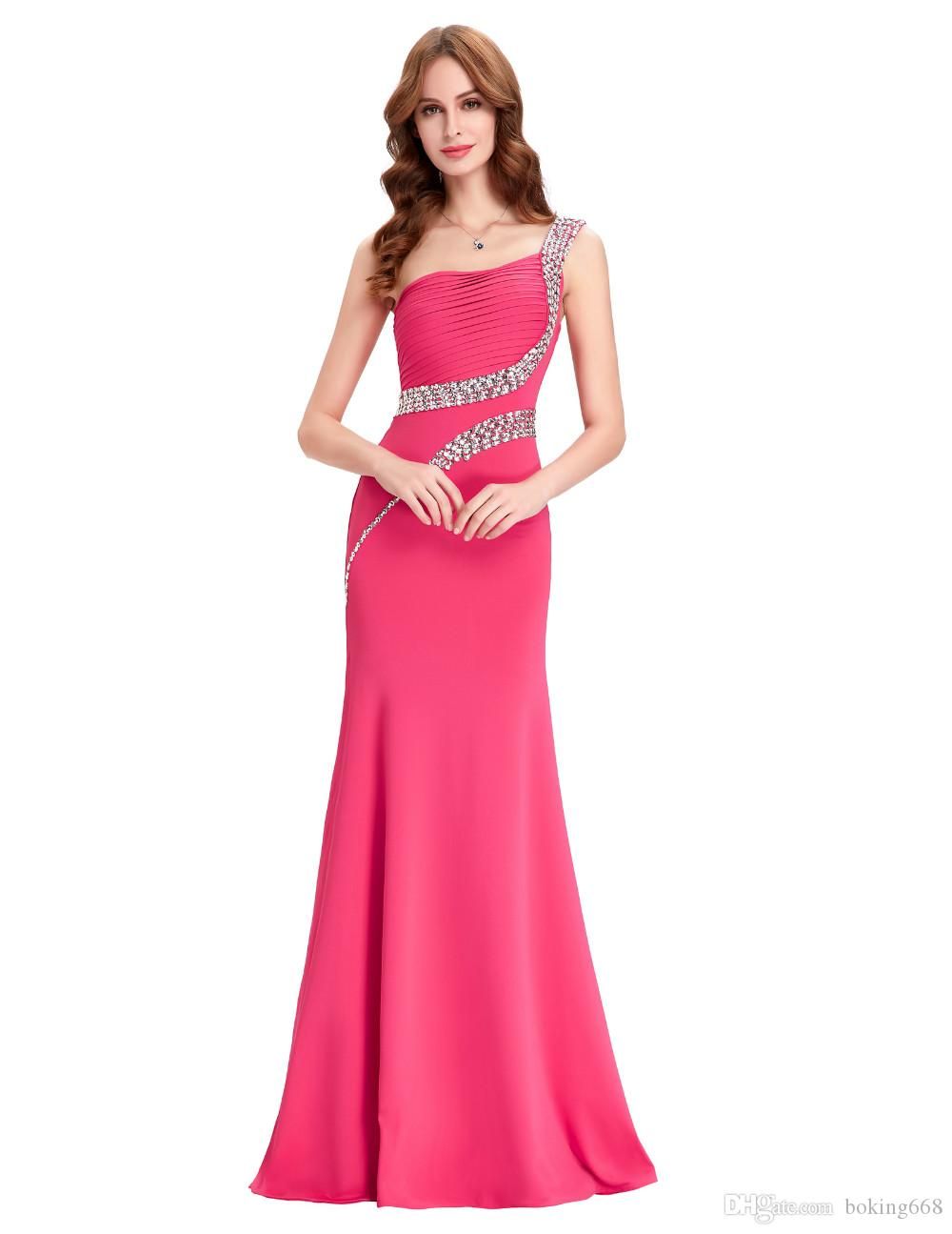 2018 New Arrival Cheap Prom Party Dresses Crystal Prom Dresses Sexy ...