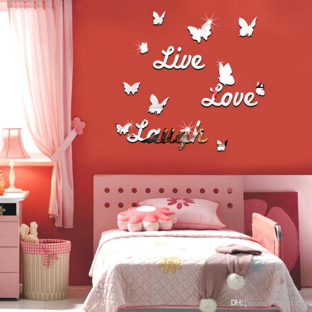 Hot Sale Live Laugh Love Quote Removable Vinyl Wall Decal Wall - Wall decals live laugh love
