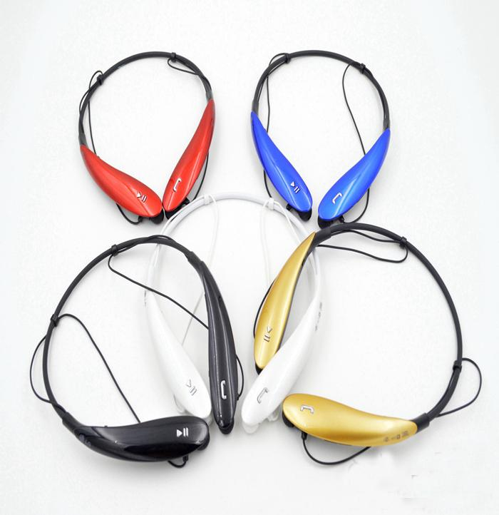 HBS-800 Bluetooth Headset Drahtlose Kopfhörer Bluetooth Kopfhörer Ohrhörer Kopfhörer Set für iPhone 6 5S 4S Samsung Xiaomi Ohrhörer