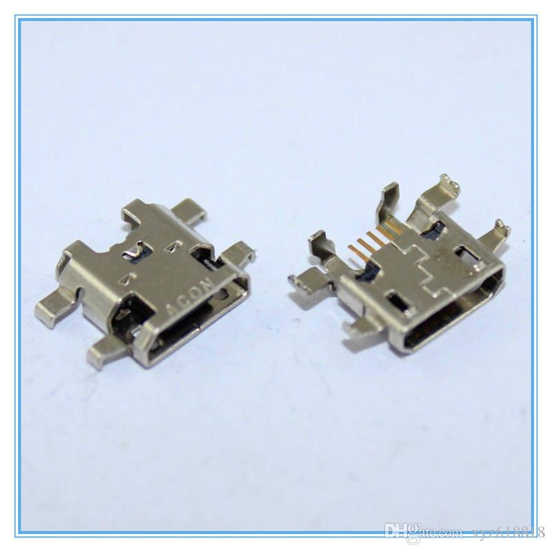 Original New Replacement For Sony Xperia M2 S50H D2303 D2306 D2305 Micro USB Charger Charging Connector Plug Dock Socket Port