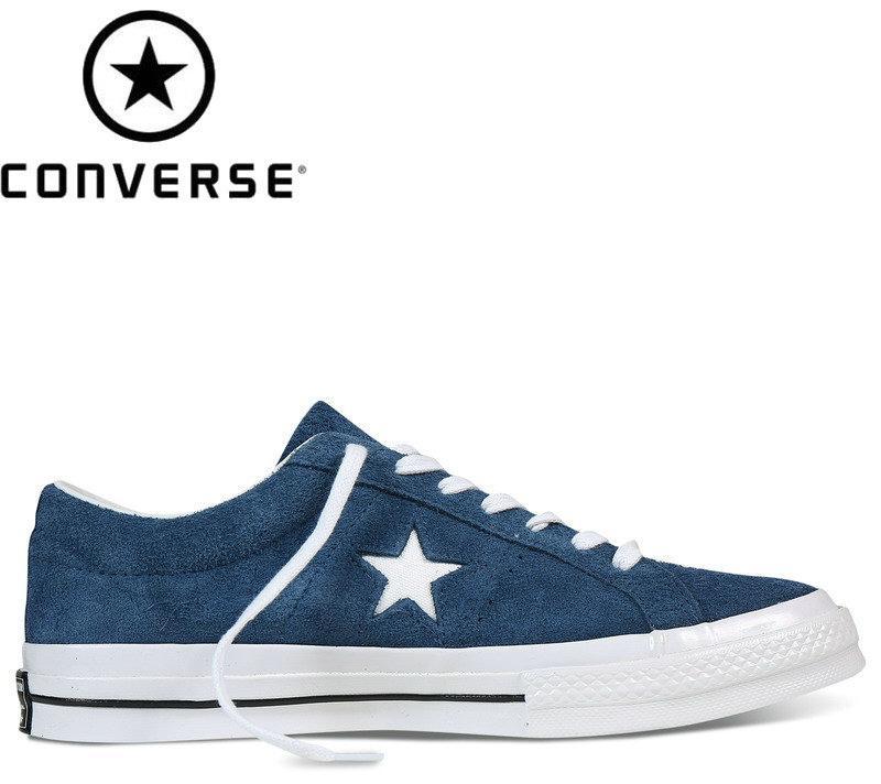 Converse - Zapatillas de deporte de cuero para mujer Blanco blanco 44 y5iQ7RPW