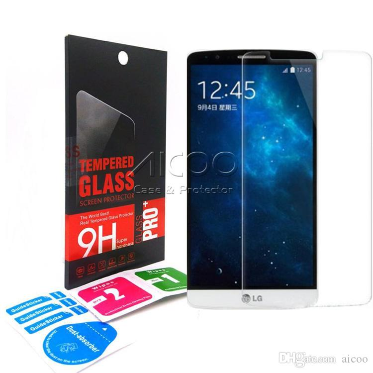 9H 0 33mm 2 5D Tempered Glass Screen protector for LG G5 V10 K7 K5 TRIBUTE  2 LS665 ZERO CLASS F620S SYTLUS 2 LS775 ray X190 retail-box