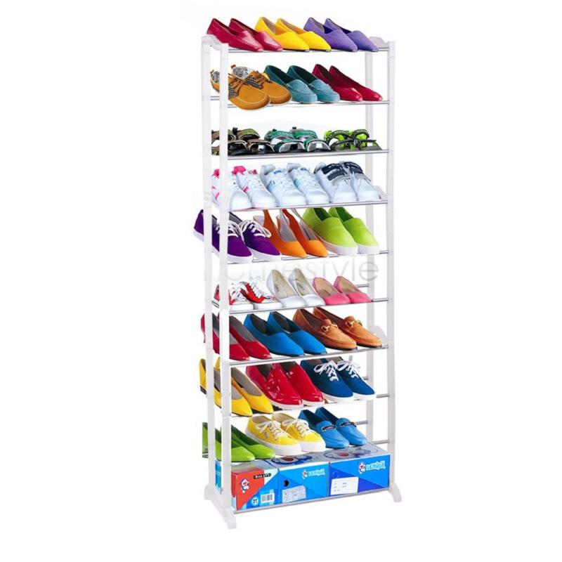 2018 Cheap Modern 10 Layer Shoe Rack/Shoe Shelf/Shoe Cabinet Easy  Installation Stand For Shoes Shelf For Books Us02 From Tanzhilian, $29.85 |  Dhgate.Com