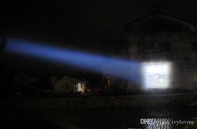 Cheapest XML-T6 2000 Lumen Zoomable CREE Waterproof LED Torches Flashlights Camping Torch Flash High Quality Free DHL