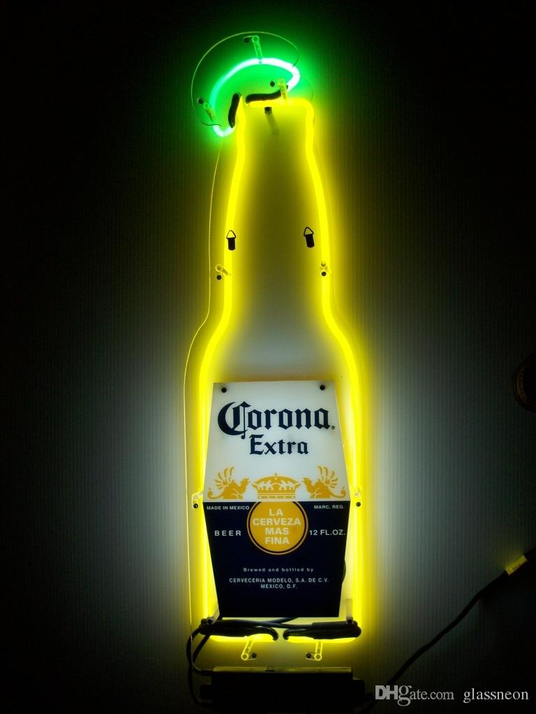 2018 new corona extra bottle light glass neon sign light beer bar 2018 new corona extra bottle light glass neon sign light beer bar pub arts crafts gifts lighting 24 from glassneon 12815 dhgate mozeypictures Images