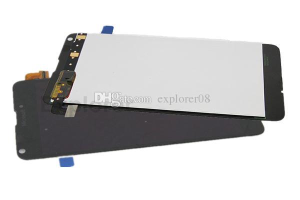 Test bestanden LCD-Anzeigen-Screen-Analog-Digital wandler für Microsoft für Nokia Lumia 640 vs N640 LCD Montage Ausgeglichenes Glas + Tools