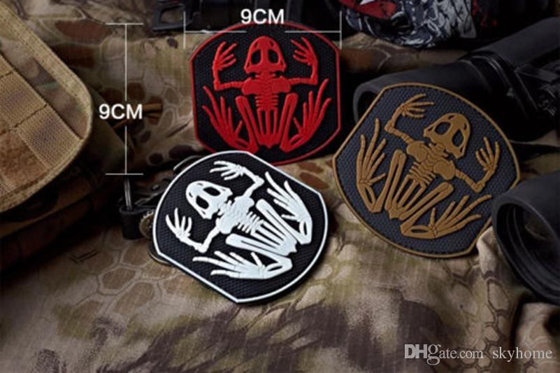 9c89f508b39 Navy Devgru Seal Team 6 Skeleton Frog Frogman Morale Pvc Rubber Patch Army  Tactical Swat Patch 3d Morale Badge Patches Skeleton Frog Frogman Navy  Devgru ...