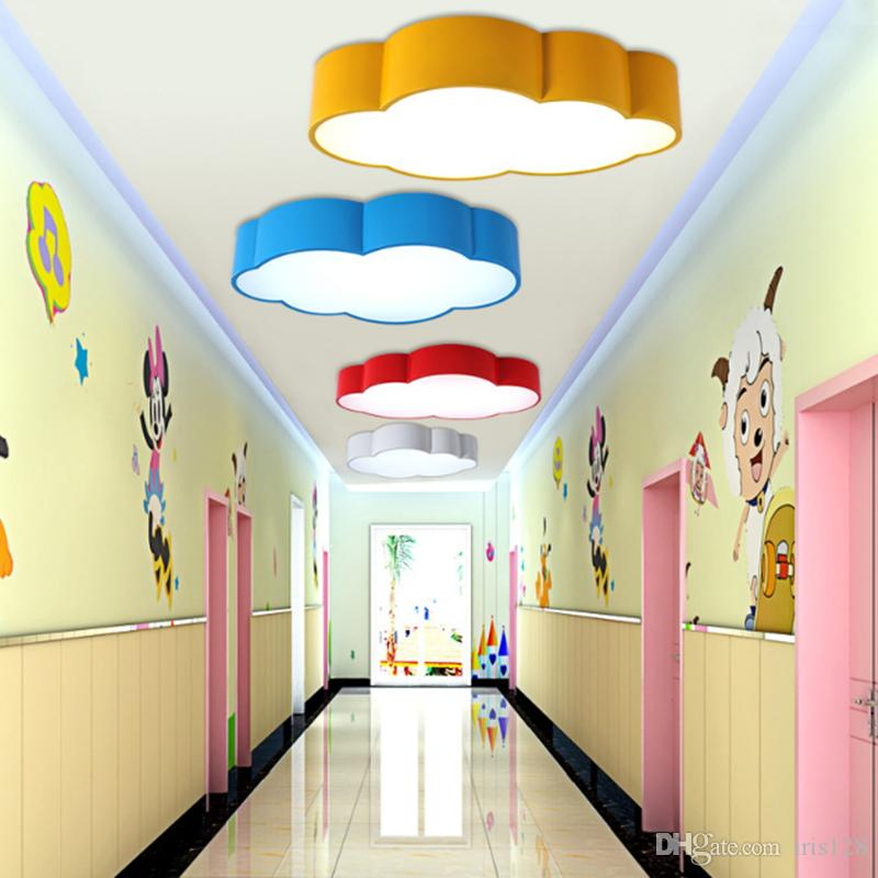 Wholesale Ceiling Lights At $70.36, Get Led Cloud Kids Room Lighting ...