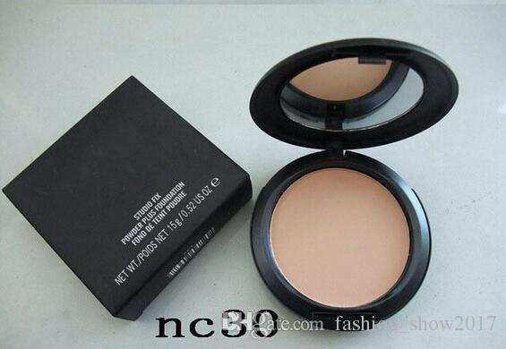 Studiu Polveri Polvere stampata Polvere Compact Face Concealer Cosmetic Trucco Polvere Donna Pro Foundation Phole Finish Flawless