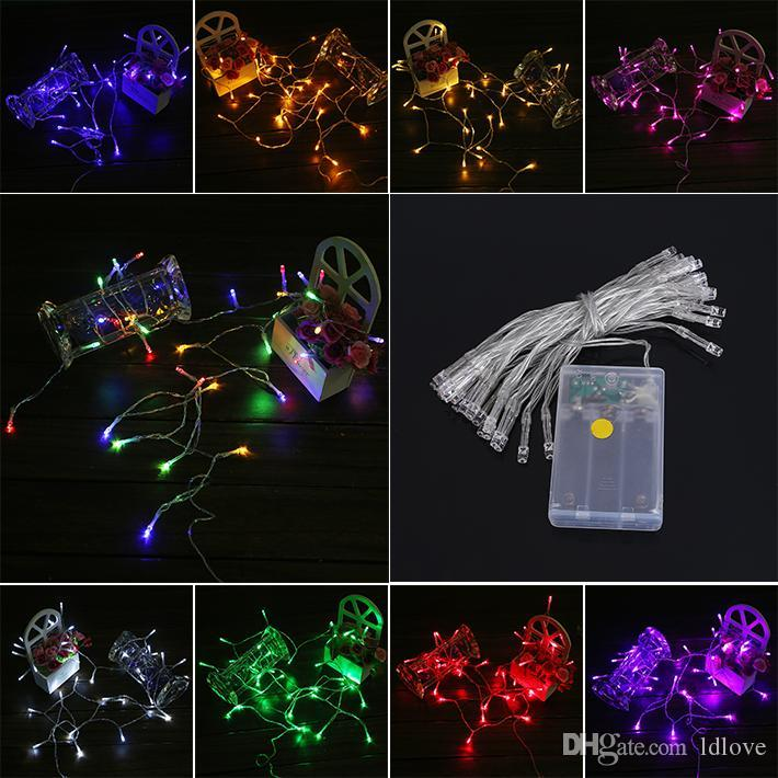christmas light 2m 3m 4m 5m led string mini fairy lights 3xaa battery operated whitewarm whiteblueyellowgreenpurplepinkredrgb light led string