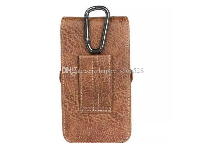 Universal PU Leather Vertical Belt Clip Holster Pouch Case for iphone6 6plus 7 7plus iphone8 4.7in 5.2in 5.5in 6.3in s8 Wallet Waist Bag
