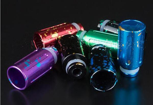 cheapest splash drip tips 510 aluminum vape tank atomizer mouth piece whoesale buy dirct from china factroy hot selling