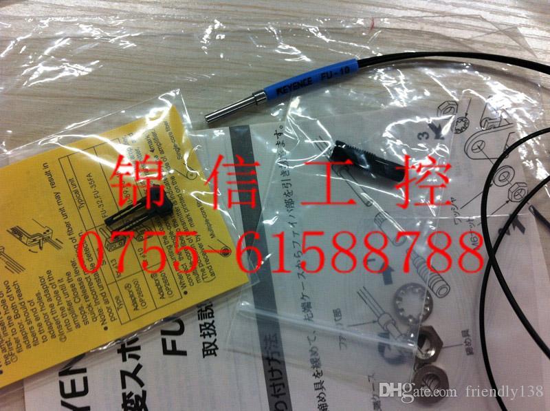 KEYENCE FU-10 Faseroptik Sensor Reflektierende Faser Einheit Brandneue Qualitätsgarantie für ein Jahr