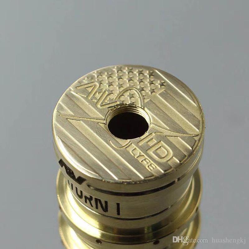 AVlyfe saturn AV Mod 4 Farben 24mm Durchmesser 18650 Vape Able Mods für AV RDA E Zigarette Qualität DHL-freies