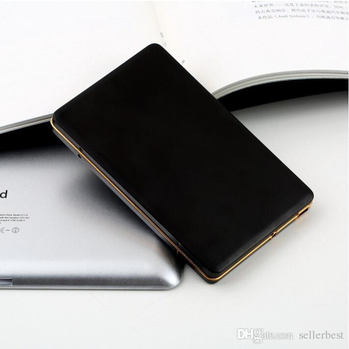 Golden Frame Diamond 2. 2,5 Zoll SATA IDE HDD Box USB 2.0 SSD Festplatte Externes Speichergehäuse Box Case Mobile für Samsung PC