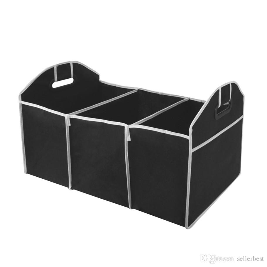 Foldable Car Organizer Boot Stuff Food Storage Bags Bag Case Box trunk organiser Automobile Stowing Tidying Interior Accessories Collapsible