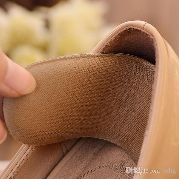 Inserti tacchi scarpe in tessuto appiccicoso e resistente Inserti protezioni Cuscini imbottiti Impugnature Cura dei piedi X2
