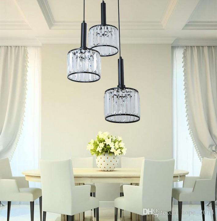 2016 New Simple Personality Modern K9 Crystal Chandeliers ...