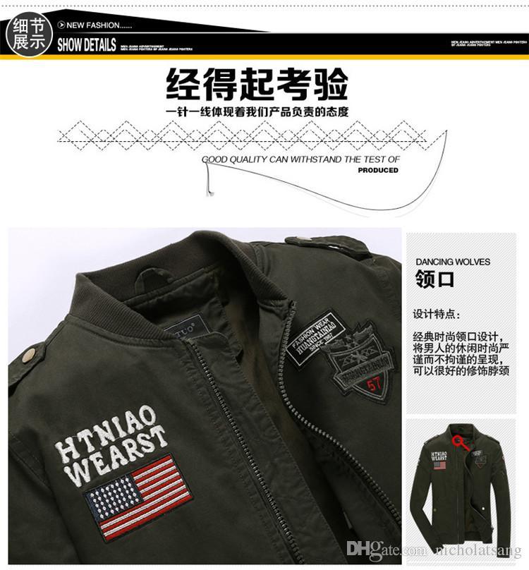 남자 CWU 파일럿 X 비행 자켓 육군 군사 야외 재킷 미국 공군 원 재킷 폭탄 비행 파일럿 자켓 101 공수 겉옷