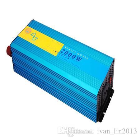 2kw homage inverter ups prices pure sine wave 2000 watt inverter peak power 4000w 24v 220v rechargeable inverter car truck