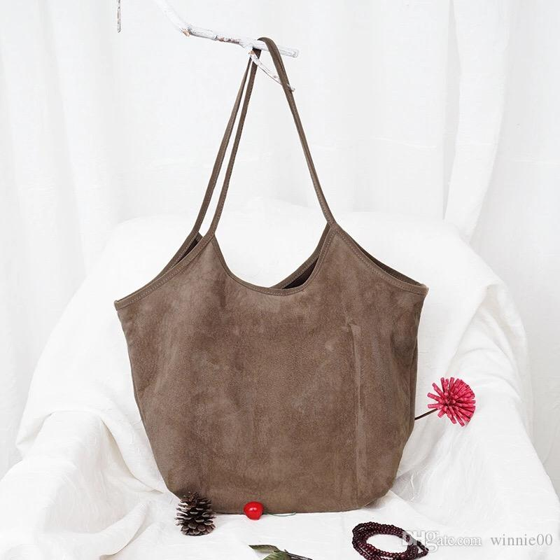 Dumpling shape suede leather handbag/tote bag shopping bag/tassel shoulder bags/ladies leather hand bags