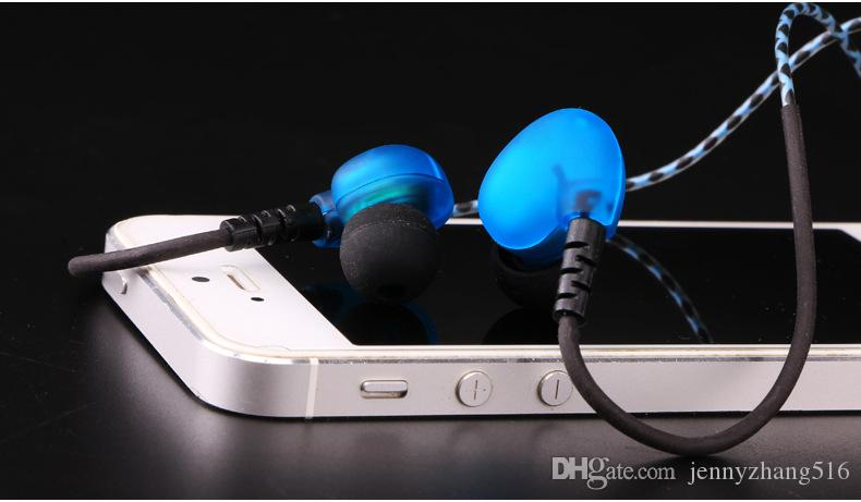 Sport Cuffie Bass Ear Hook Cuffie Sport auricolari in-ear in esecuzione con microfono lettore MP3 Xiaomi Iphone