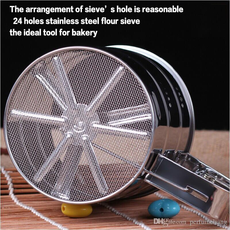 Stainless steel sieve cup screen mesh powder flour sieve baking tools for cakes set cozinha cake decorating tools