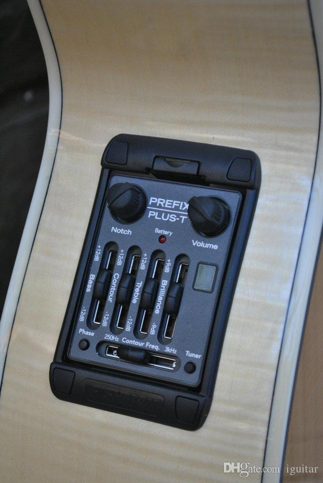 Звукосниматели гитары Fishman Prefix Plus-T Встроенный предусилитель Matrix Pickup EQ Acoustic На складе Бесплатная доставка