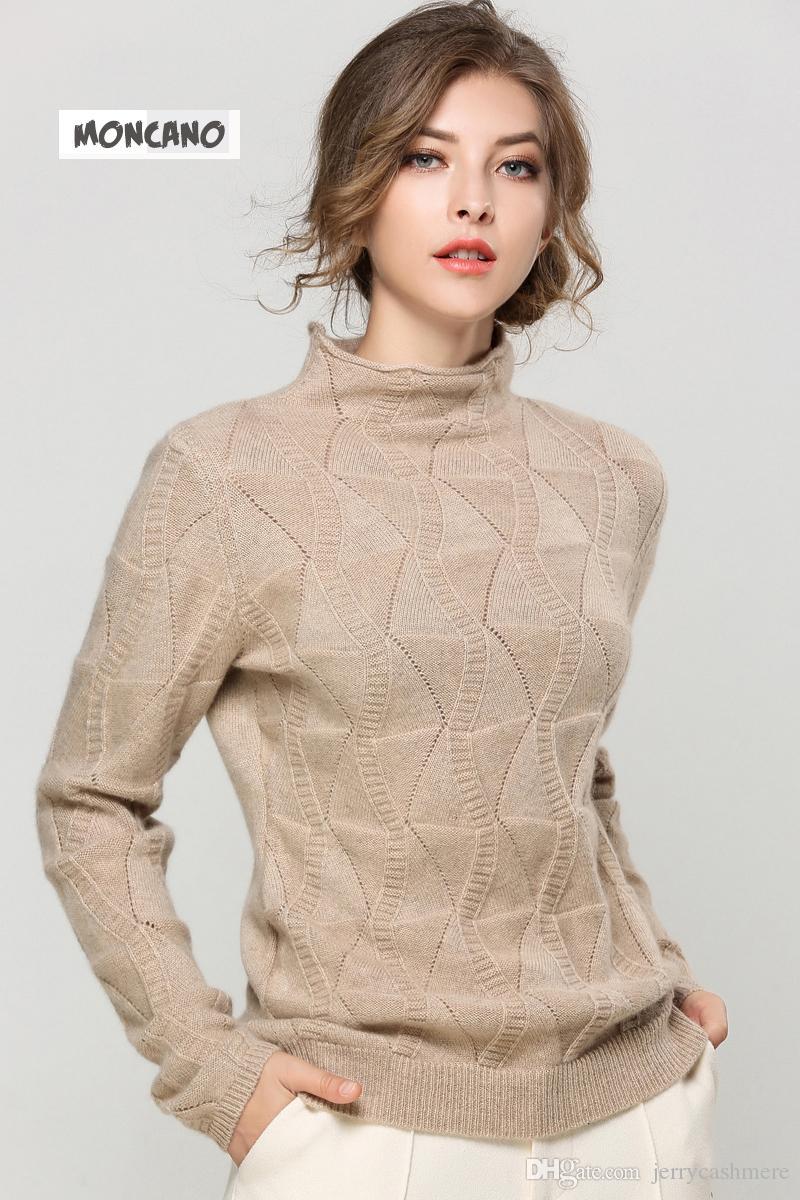 2018 Moncano 2017 New Fashion Loaded 100% Pure Cashmere Soft Warm ...