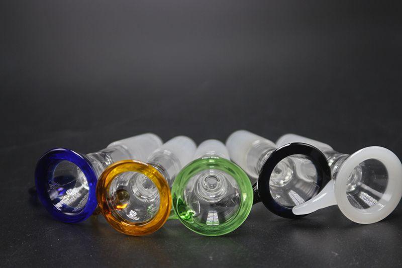 Красочные стеклянные бонги с ручной стеклянной чашей ручной курительные чаши 14 мм 18 мм для Honeybird Micro Nc водопроводные трубы стекло барботер