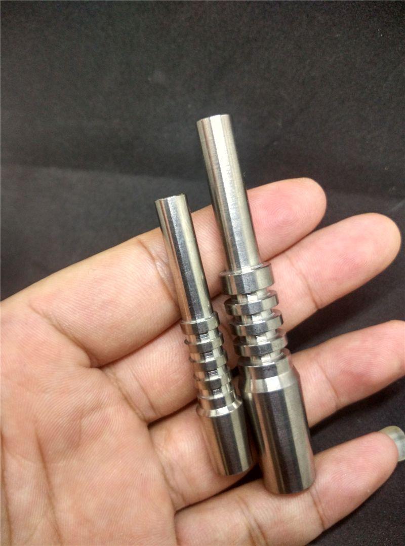 Nektar Collector GR2 Titanium Nail 18.8mm 14mm 10mm Inverted Nail Grade 2 Titanium Tip für Glas Nektar Collector KOSTENLOSER VERSAND