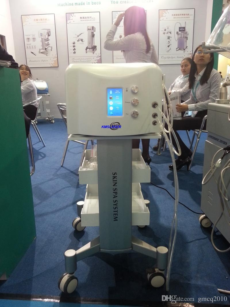 2017 new 2 in 1High Quality Imported Pump Diamond Microdermabrasion Hydro Dermabrasion Water Peeling Water Dermabrasion Facial Equipment