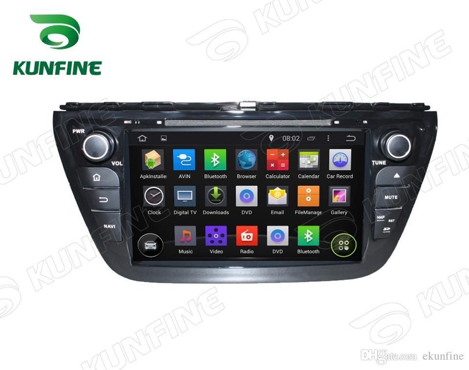 "8"" Quad Core 1024*600 Screen Android 5.1 Car DVD GPS Navigation Player Stereo for Suzuki SX4 2014 Radio Bluetooth 3G Wifi KF-V2102"
