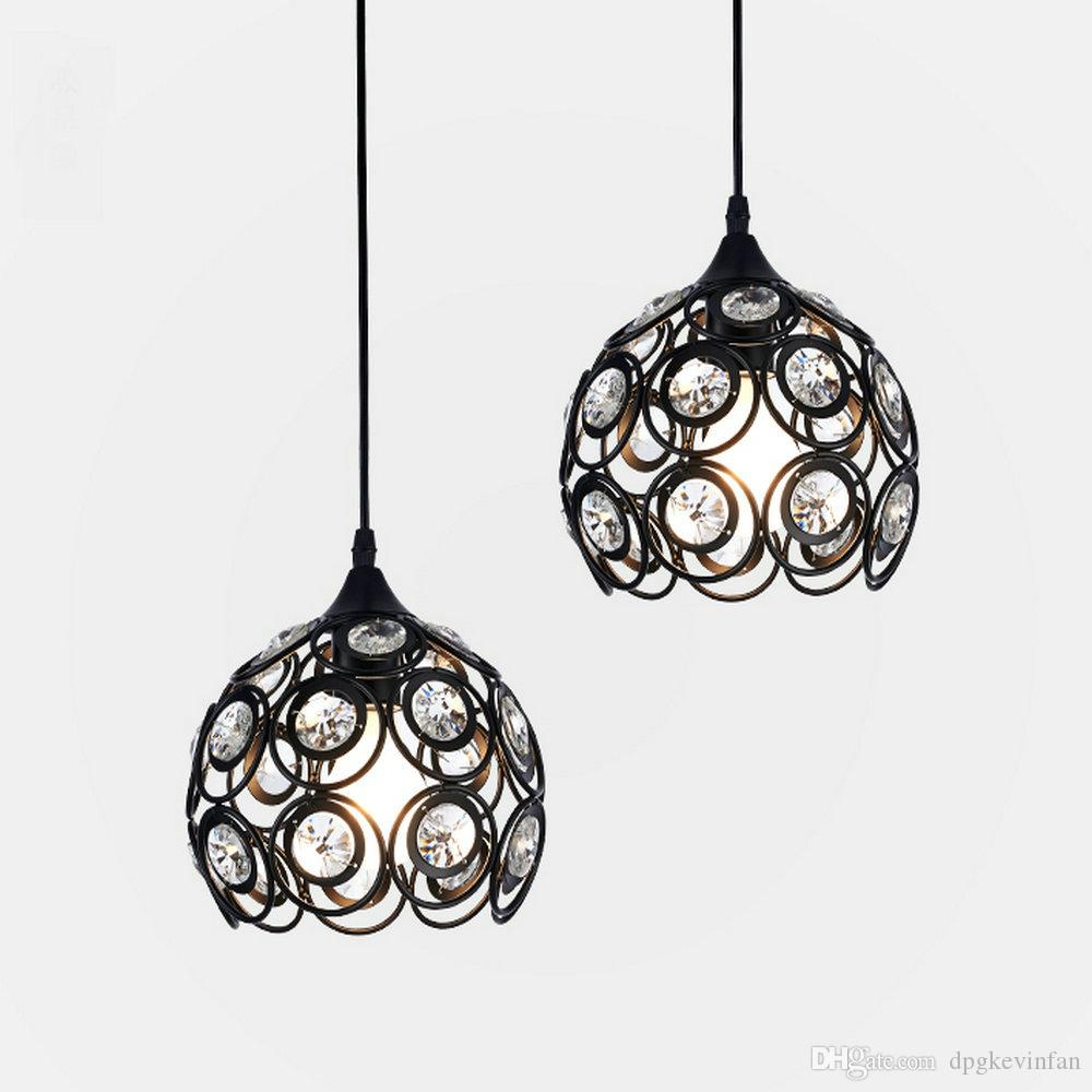 Rustic modern led lamp lustre pendant lights fixtures with e27 220v for decor kitchen bedroom home lighting industrial lamp lantern chandelier globe